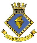 HERMES - Blazer Badge~OFFICIALLY LICENCED PRODUCT